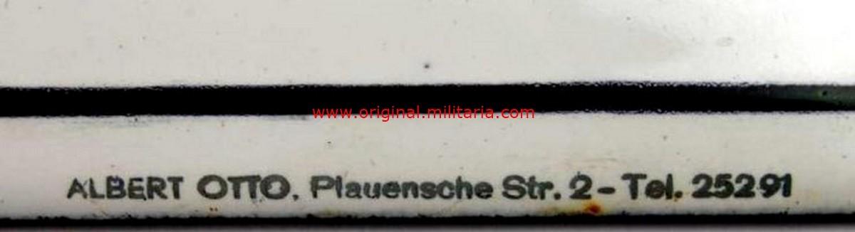 NSDAP/ Placa Esmaltada del Grupo Local Seehausen